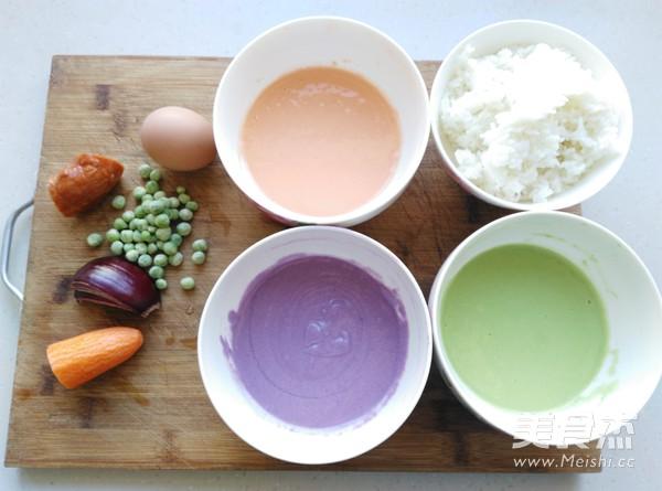 彩蔬米饭可丽饼的简单做法