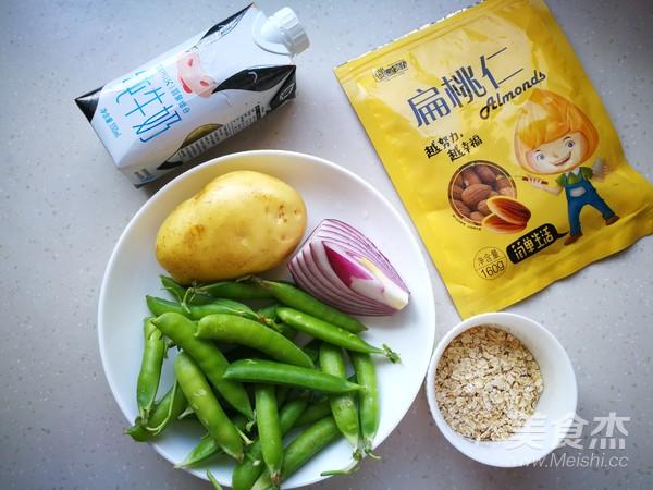 豌豆燕麦浓汤的做法大全