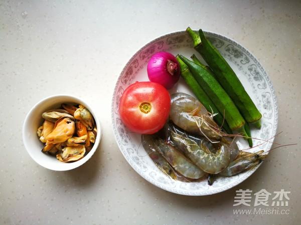 海鲜蔬菜沙拉的做法大全