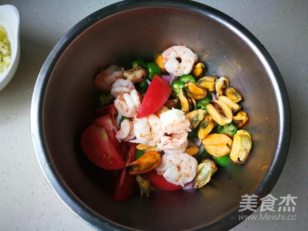 海鲜蔬菜沙拉怎么炒