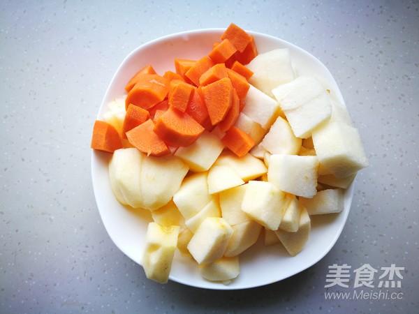 胡萝卜苹果汁的做法图解