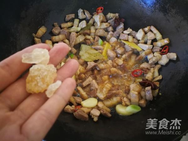 台式香菇卤肉饭怎样煸