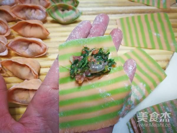 三鲜菜蔬馄饨#秋季保胃战#的制作