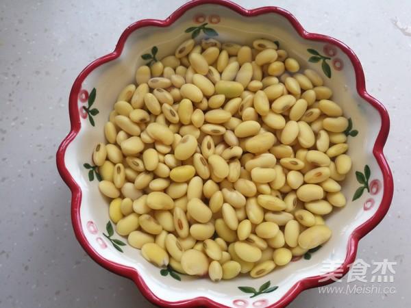 五香酱黄豆的步骤