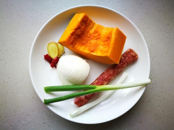 腊肠南瓜饭的做法大全
