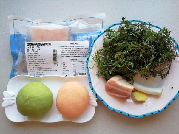 磷虾菜蔬馄饨的做法大全