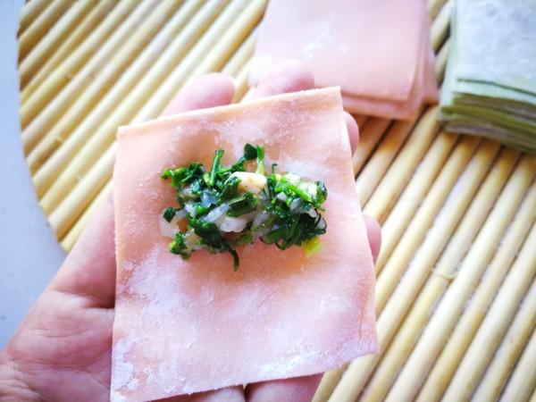 磷虾菜蔬馄饨怎么煮