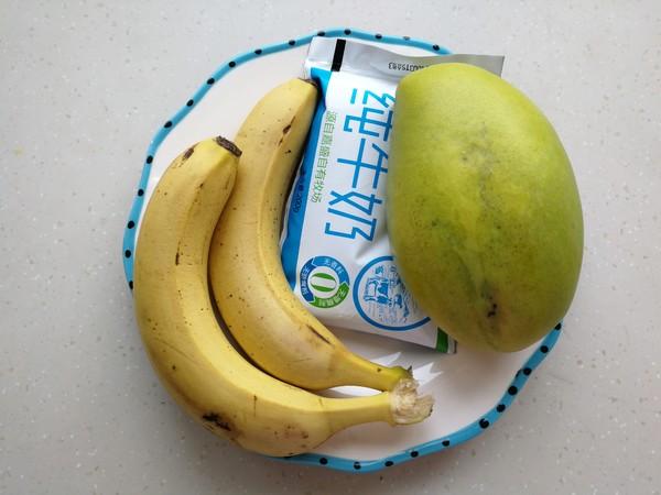香蕉芒果冰沙的做法大全