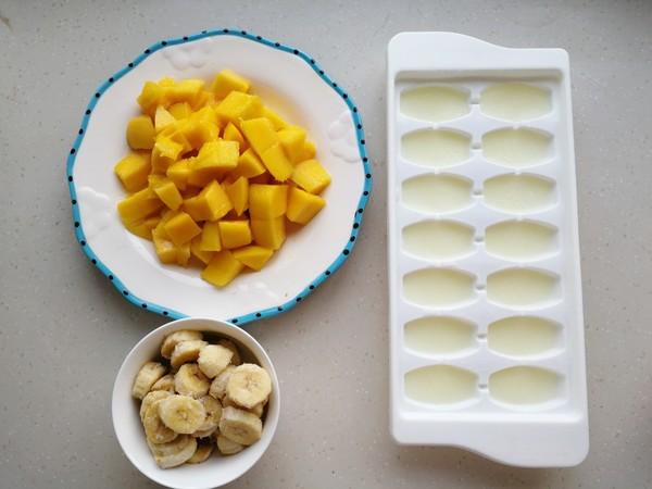 香蕉芒果冰沙的做法图解