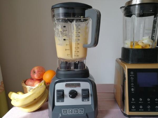 香蕉芒果冰沙的家常做法