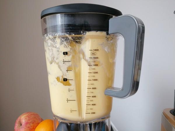 香蕉芒果冰沙的简单做法