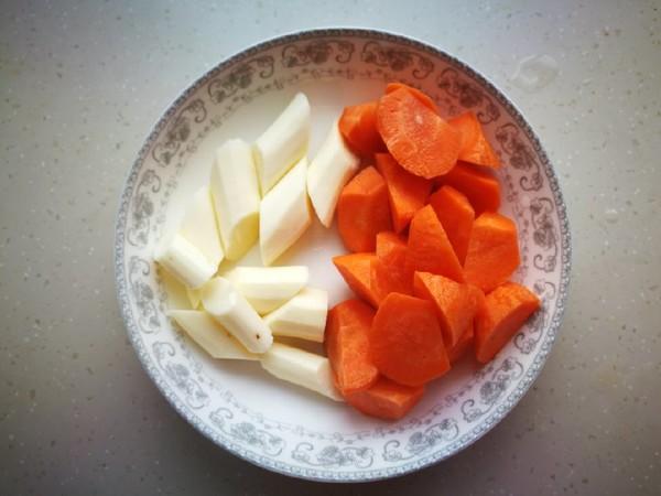 胡萝卜山药焖羊肉的做法图解