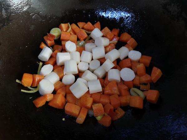 【三阳开泰】胡萝卜羊肉盖浇饭怎么吃