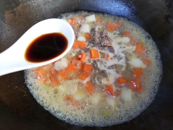 【三阳开泰】胡萝卜羊肉盖浇饭怎么炒