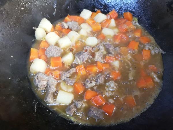 【三阳开泰】胡萝卜羊肉盖浇饭怎么煸