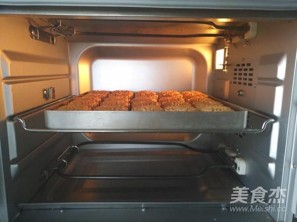 广式五仁月饼蜂蜜版(不用转化糖浆)的制作方法