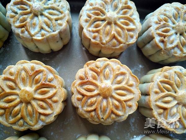 广式五仁月饼蜂蜜版(不用转化糖浆)的做法大全