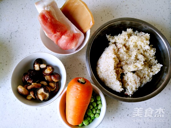美味炒糯米饭的做法大全