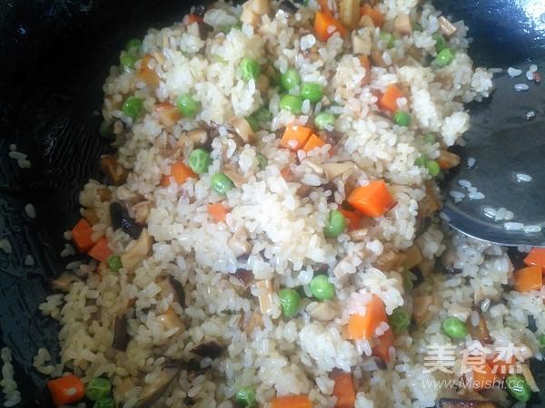 美味炒糯米饭怎样炒