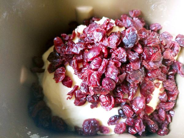 蔓越莓软欧的做法图解