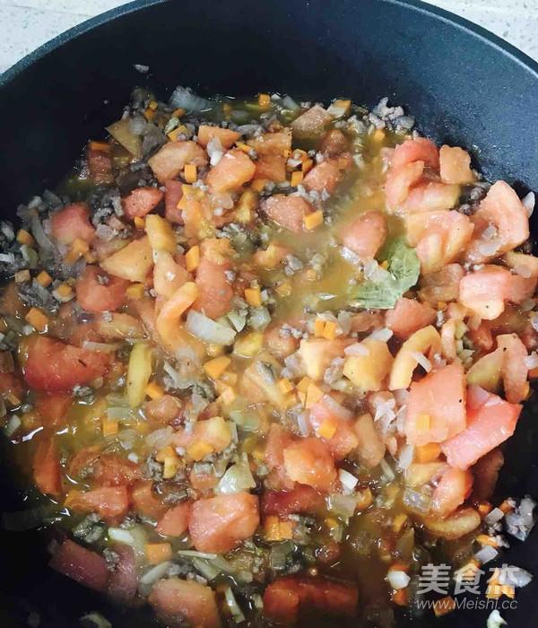 双茄肉酱焗意面怎么吃