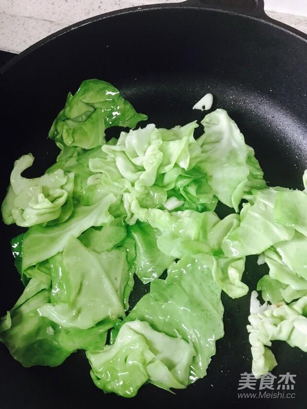 番茄炒包菜(快手菜)的做法图解