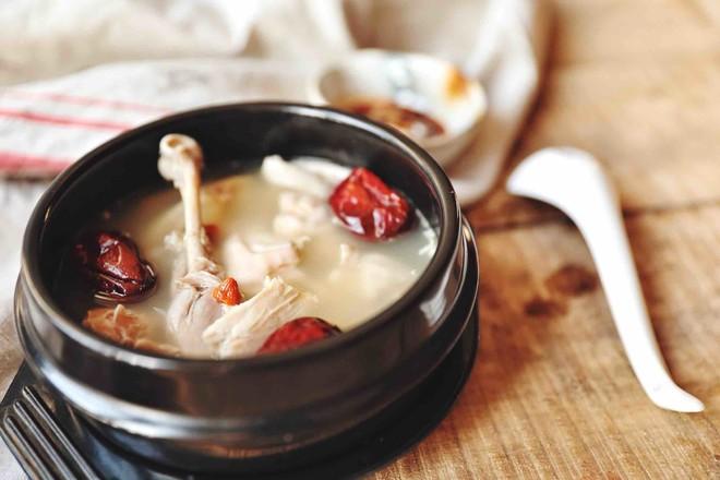 猪肚鸡(汤,火锅底)成品图
