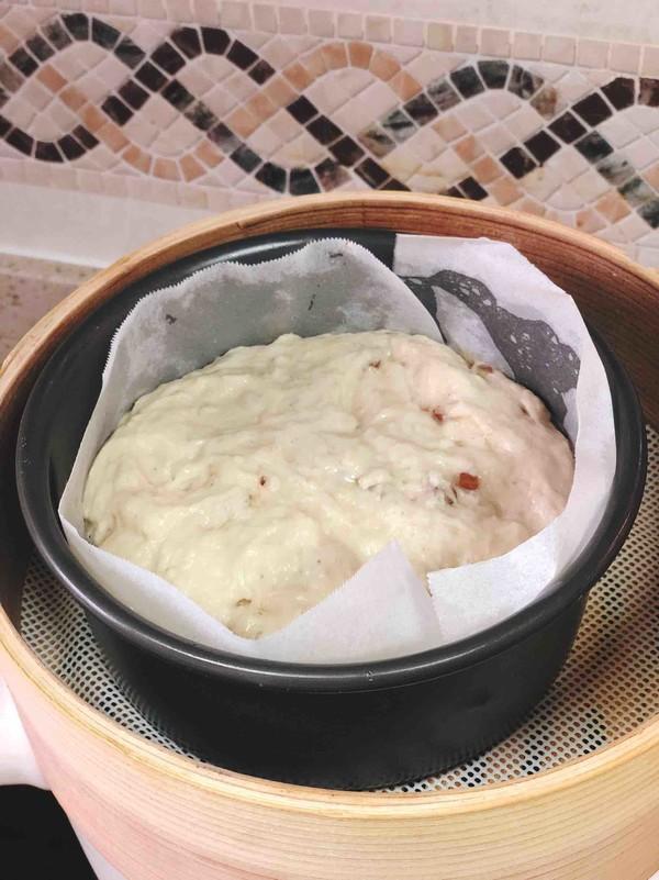 玉米面发糕的简单做法