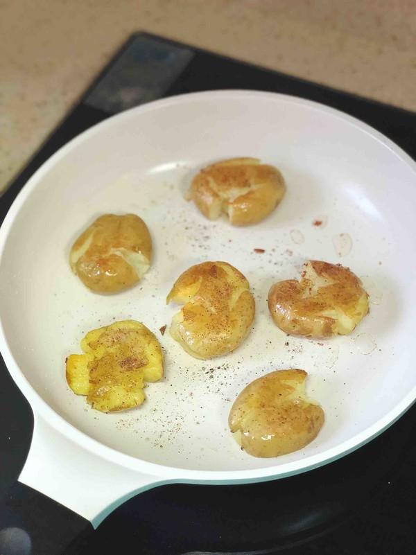 椒盐小土豆怎么吃