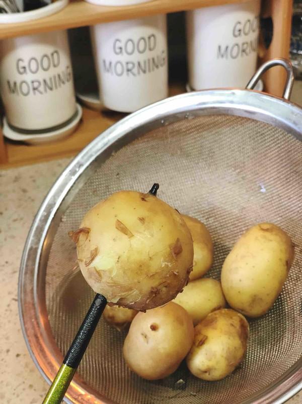 椒盐小土豆的家常做法