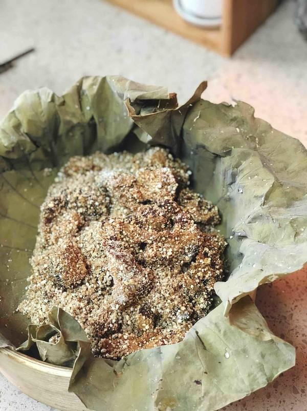 粉蒸肉荷叶饼的简单做法