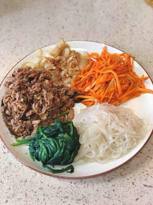 韩式杂拌菜怎么炒