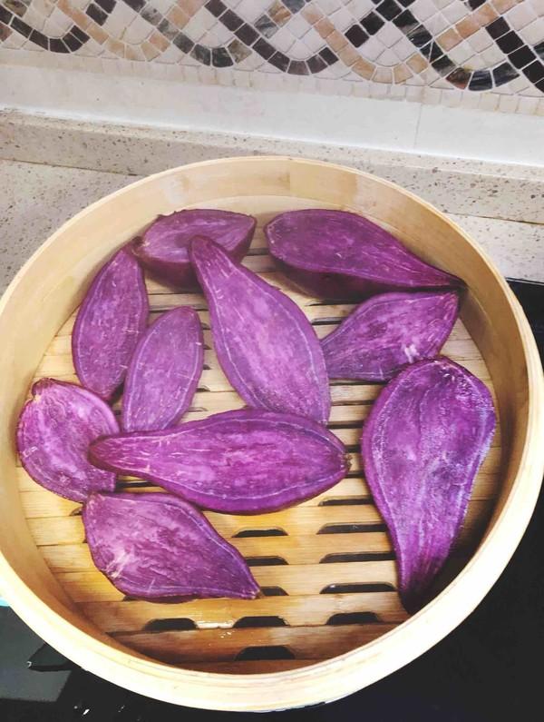 紫薯粉的做法大全