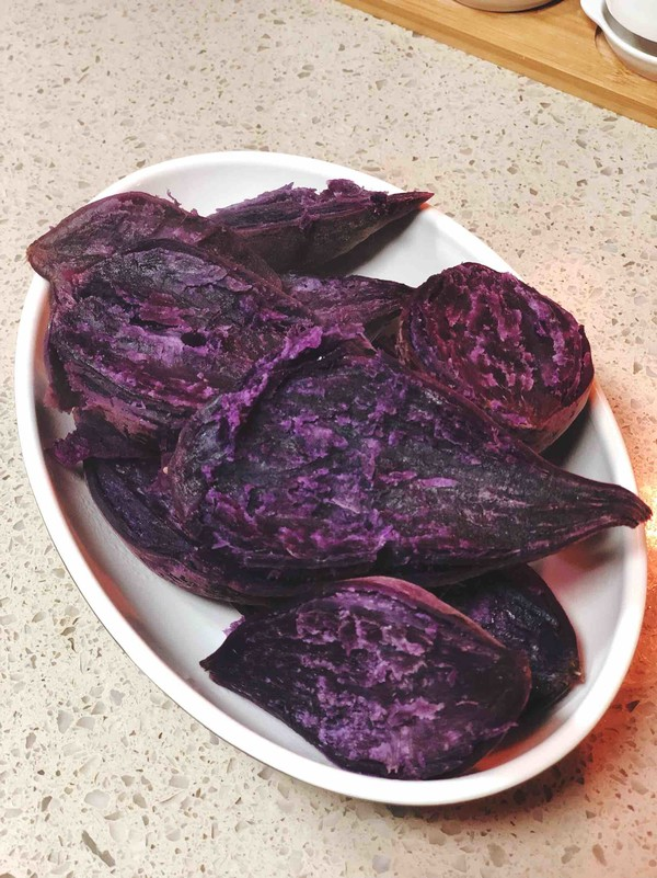 紫薯粉的做法图解