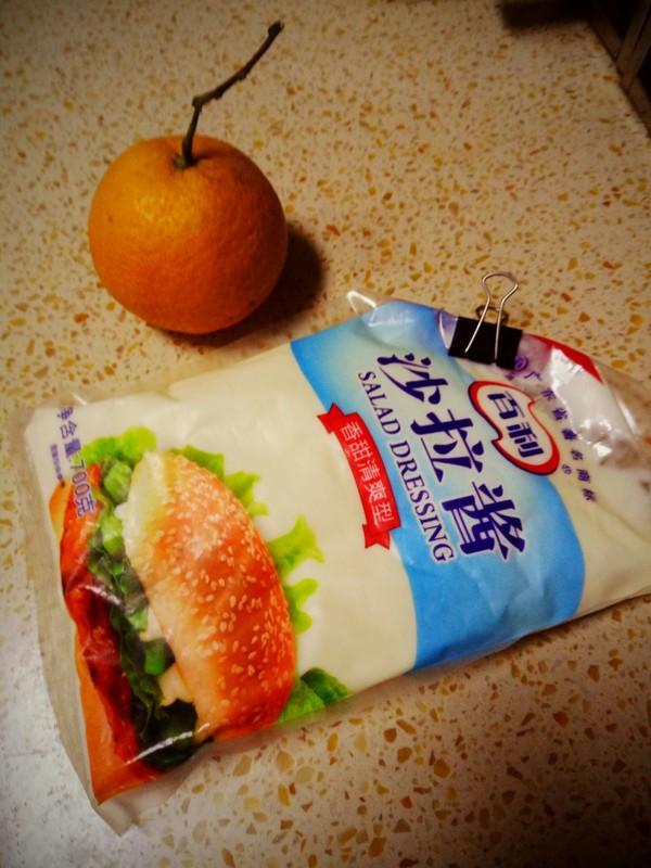 橘子沙拉的做法大全