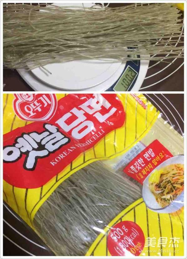 懒人版韩式杂菜的做法大全