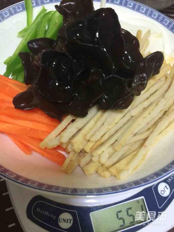 懒人版韩式杂菜的简单做法