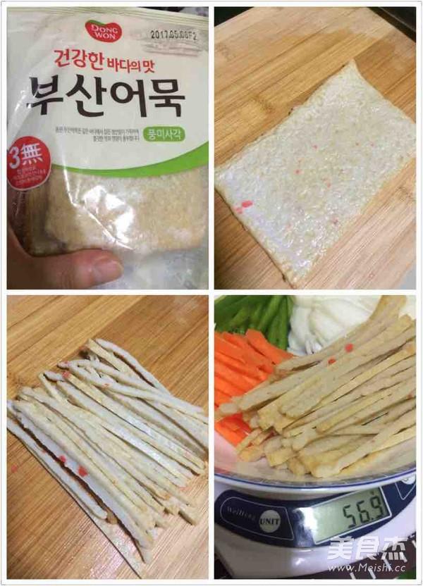 懒人版韩式杂菜怎么吃