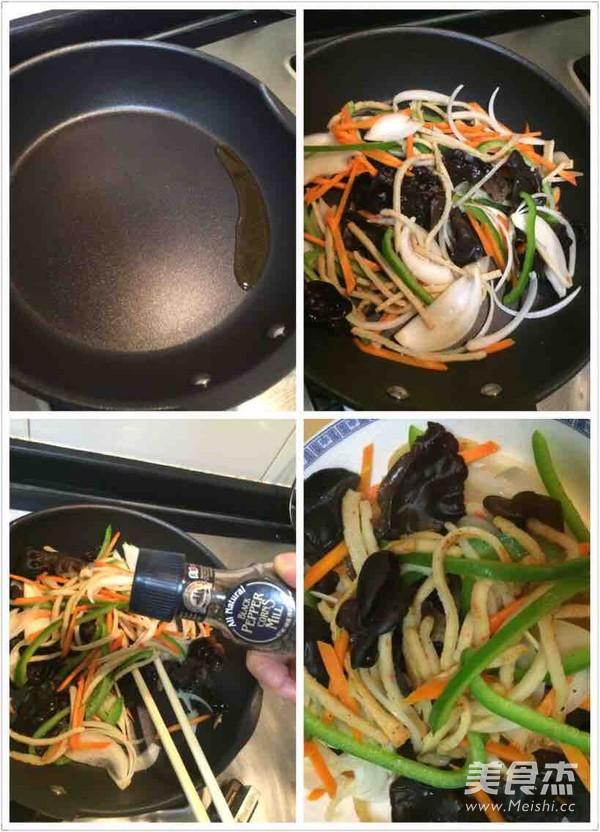 懒人版韩式杂菜怎么做