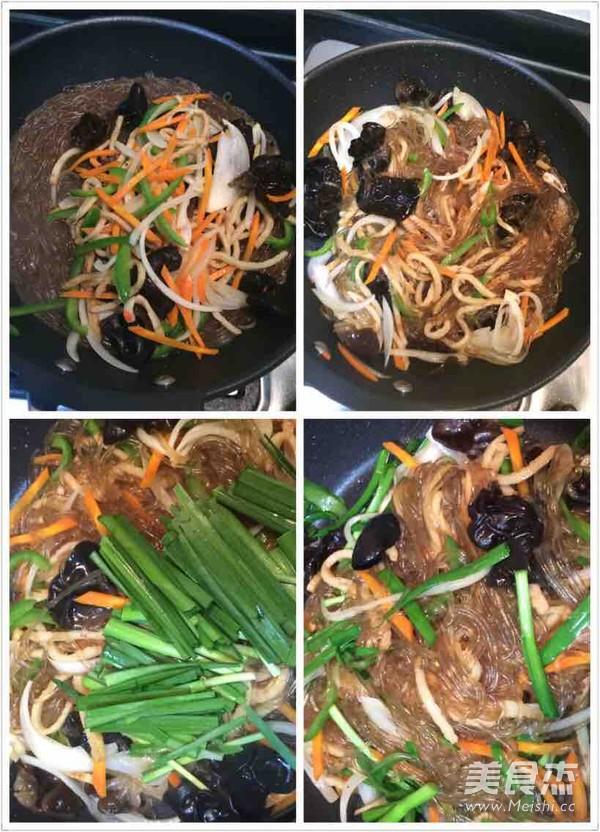 懒人版韩式杂菜怎么煮