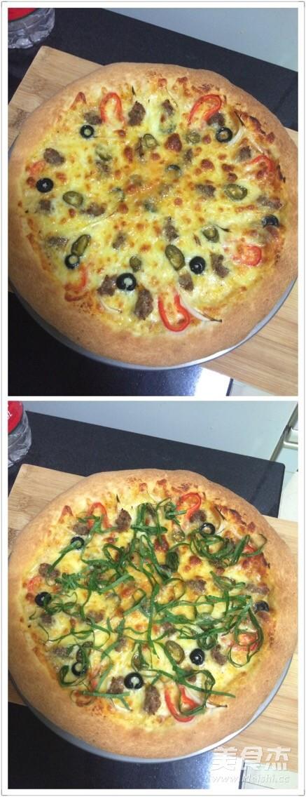 自制香肠披萨怎样做