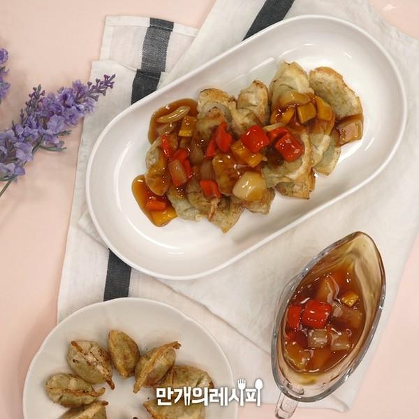 汤饺子成品图