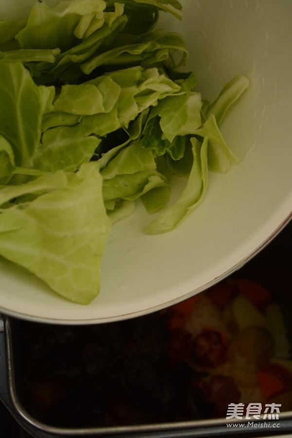 韩式拌饭的步骤