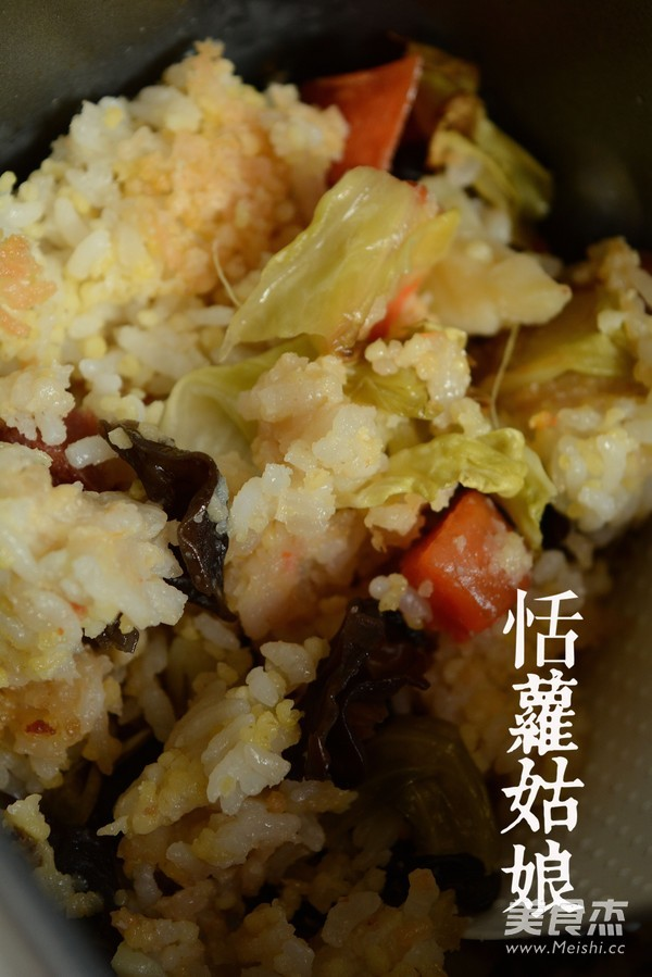 韩式拌饭成品图