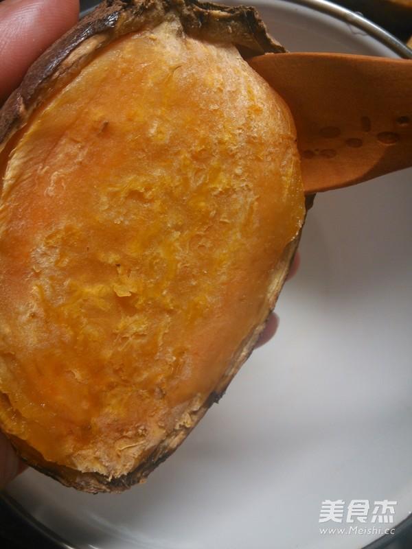 芝士焗番薯的步骤