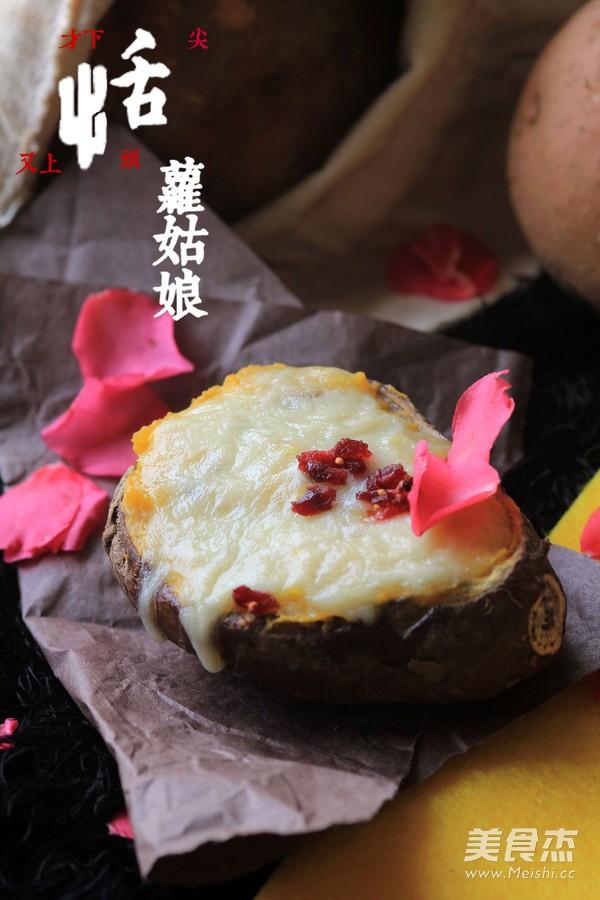 芝士焗番薯成品图