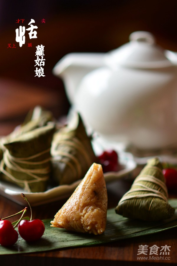 东坡肉粽子成品图