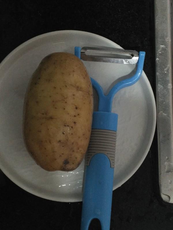 粉蒸土豆丝的做法大全
