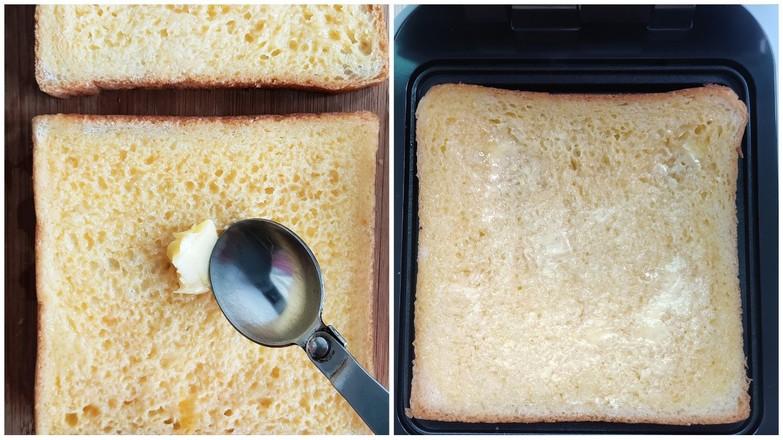 【完美早餐】三明治+水蒸蛋的做法图解