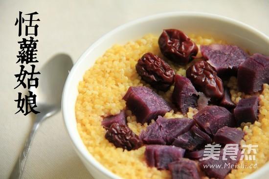 红枣紫薯小米饭怎么炖